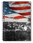 Washington Dc 56t Spiral Notebook
