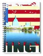 Washington Dc  Spiral Notebook