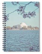Washington Dc In Spring Spiral Notebook