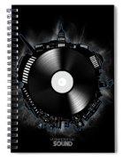 Washington Dc Skyline Vinyl 10 Spiral Notebook