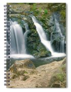 Washington Falls 3 Spiral Notebook