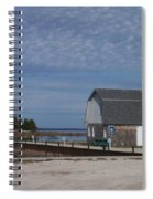 Washington Island Harbor 1 Spiral Notebook