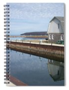 Washington Island Harbor 2 Spiral Notebook
