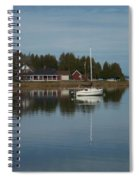 Washington Island Harbor 3 Spiral Notebook