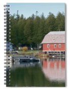 Washington Island Harbor 6 Spiral Notebook