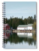 Washington Island Harbor 7 Spiral Notebook