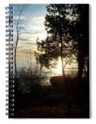 Washington Island Morning 2 Spiral Notebook