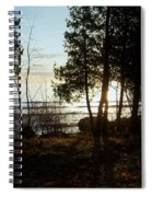 Washington Island Morning 3 Spiral Notebook