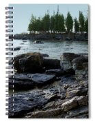 Washington Island Shore 1 Spiral Notebook