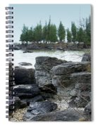 Washington Island Shore 3 Spiral Notebook