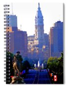 Washington Looking Over To City Hall Spiral Notebook