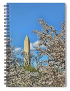 Washington Monument # 11 Spiral Notebook
