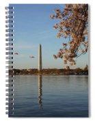 Washington Monument Spiral Notebook