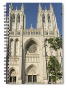 Washington National Cathedral Front Exterior Spiral Notebook