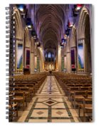 Washington National Cathedral Interior Spiral Notebook
