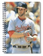 Washington Nationals Bryce Harper Spiral Notebook