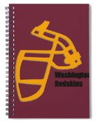 Washington Redskins Retro Spiral Notebook