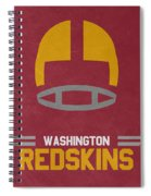 Washington Redskins Vintage Art Spiral Notebook