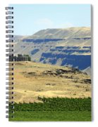 Washington Stonehenge With Vineyard Spiral Notebook