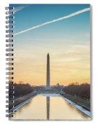 Washington Sunrise Spiral Notebook