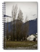 Washington Winter Day Spiral Notebook