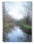 Washingtons Crossing - Along The Delaware Canal Spiral Notebook