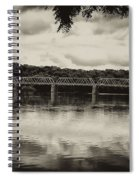 Washingtons Crossing Bridge Spiral Notebook
