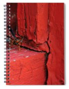Wasp And Red Spiral Notebook