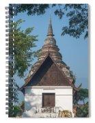 Wat Jed Yod Phra Ubosot Dthcm0967 Spiral Notebook