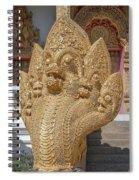 Wat Kumpa Pradit Phra Wihan Five-headed Naga Dthcm1664 Spiral Notebook