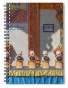 Wat Mae Faek Luang Phra Wihan Daily Merit Bowls Dthcm1879 Spiral Notebook