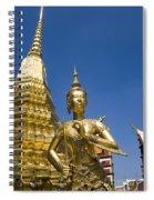 Wat Phra Kaeo Spiral Notebook