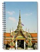 Wat Po Bangkok Thailand 13 Spiral Notebook