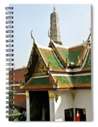 Wat Po Bangkok Thailand 14 Spiral Notebook