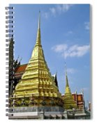 Wat Po Bangkok Thailand 18 Spiral Notebook