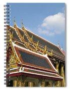 Wat Po Bangkok Thailand 24 Spiral Notebook