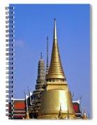 Wat Po Bangkok Thailand 3 Spiral Notebook