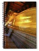 Wat Po Bangkok Thailand 32 Spiral Notebook
