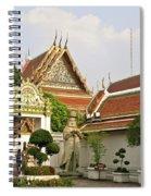 Wat Po Bangkok Thailand 35 Spiral Notebook
