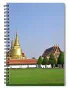 Wat Po Bangkok Thailand 37 Spiral Notebook