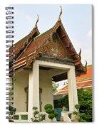Wat Po Bangkok Thailand 39 Spiral Notebook