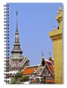 Wat Po Bangkok Thailand 6 Spiral Notebook