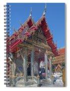 Wat Prachum Khongkha Phra Wihan Dthcb0174 Spiral Notebook