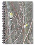 Watch Me One Bird In Flight Spiral Notebook