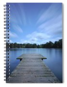 Watch The Day Go By Spiral Notebook