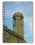 Watch Tower On The Castillo Spiral Notebook
