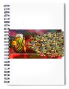 Watchamyteethacus After An Easy Meal Spiral Notebook
