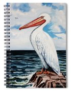 Watcher Of The Sea Spiral Notebook