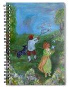 Watching Over The Children Spiral Notebook