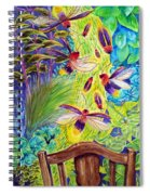 Watching The Bug Byway By Way Of Back Porch Spiral Notebook